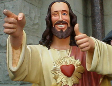Robert Esparza is NOT Buddy Christ